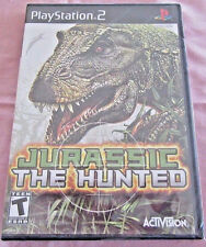 Jurassic: The Hunted (Sony PlayStation 2, 2009) PS2 GAME BRAND NEW!!! HTF ~RARE~