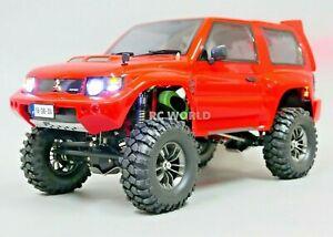 RC Mitsubishi PAJERO Sport Rock Crawler 8.4v Metal Chassis RC Truck W/ SOUND RTR