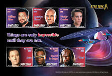 Gambia-2016-movie,space-star trek:50 anniversary ,next generation crew sheetlet