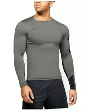 Under Armour HeatGear Compression Men's Long Sleeve Shirt-1351817 Size M Gray