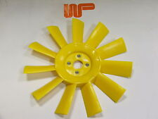 CLASSIC MINI ROVER MORRIS YELLOW THICK PLASTIC COOLING FAN...11 Blade...12G2129