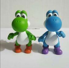 "Super Mario Bros 5"" YOSHI Figure Dolls Free Shipping 2 Figures Set"
