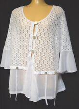 TS cardy TAKING SHAPE plus sz XXS / 12 All About It Cardi lace sheer NWT rp$130!