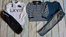 Garçons Designer Clothes Bundle Burberry Ralph Lauren h&m jeans très bon état 3-4 ans