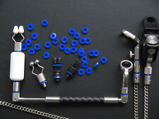 Carp Fishing Tackle i-Bandy O Ring x40 Blue Fit Butt Banger Swinger 3-7mm bsw40#