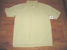 Cabbalas Sand Polo Golf Short Sleeve Shirt Men's XL  NYZ12
