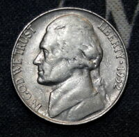 1952-S Circulated Jefferson Nickel Free Shipping!