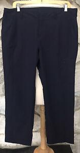 ATHLETA Blue Utility Jogger Nylon Blend Pants #215248 Size 14 EUC