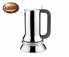 Espresso Coffee Maker Alessi 9090/1 in 18/10 Stainless Steel 1 Cup - Moka