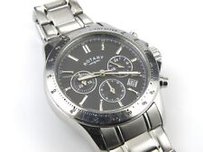 Rotary GB00064/04 Mens Slate Dial Chronograph Watch - 100m