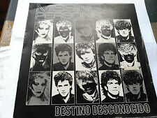 SINGLE MISSING PERSONS - DESTINATION UNKNOWN - CAPITOL SPAIN 1982 VG+