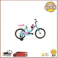 Bici 16 Bambina 4-7 Anni Bicicletta Mtb Bimba Pixel Tiffany