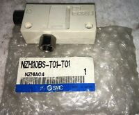 NEW SMC VACUUM EJECTOR INLINE BOX STYLE NZHI10BS-T01-T01 1/8 INCH NPT