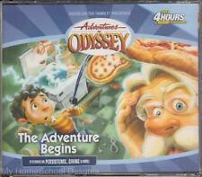 NEW Sealed Adventures in Odyssey #1 THE ADVENTURE BEGINS 4 CD Children's Audio
