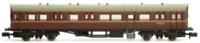 Dapol 2P-004-013 N Gauge BR Maroon Autocoach W194W