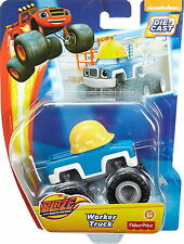 """Fisher-Price Blaze and the Monster Machines 3"""" Die-Cast Vehicle - Worker Truck"""