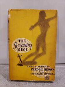 Fredric Brown-THE SCREAMING MIMI (1949)-1ST ED, FILM NOIR SOURCE BOOK