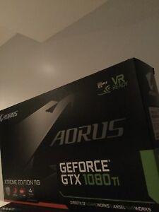GIGABYTE NVIDIA GeForce GTX 1080 TI Xtreme Edition 11GB GDDR5X Video Card -...