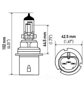 Headlight Bulb Hella 9004P50