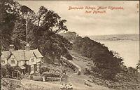 Mount Edgecombe Plymouth England Devon ~1910 Beechwood Cottage Fachwerkhaus Haus