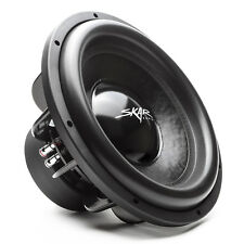 NEW SKAR AUDIO EVL-15 D4 2500W MAX POWER 15-INCH DUAL 4 OHM SPL/SQ CAR SUBWOOFER