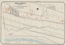 1913, CHARLES E. GOAD, MONTREAL, CANADA, ELMHURST DAIRY, REPRODUCTION ATLAS MAP