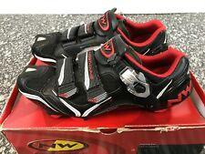 Northwave Striker Carbon 5 MTB SPD Shoe Black/Red UK7.5 New 50% Off
