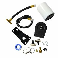 Black Fit 99-03 Ford F250 F350 7.3L Powerstroke Diesel Coolant Filter System Kit