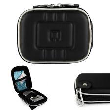 Black Small Compact Digital Camera Case Bag W/ Clip for Nikon COOLPIX A300/ A100