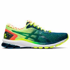 ASICS 1011A933 750 GT 1000 9 Safety Yellow Mako Blue Men's Running Shoes