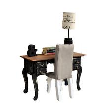 MiniMolly Dollhouse Furniture BARBIE SIZE Desk Set  1:6 scale Desk Chair Lamp
