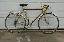 Sears Free Spirit,Reynolds 531 touring frame, Blackburn racks, Campagnolo brakes