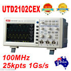 "UNI-T OSCILLOSCOPE 100MHz 2Ch 1GS/s 7"" Large LCD UTD2102CEX Multimeter Sydney"