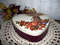 Thanksgiving Tin Box Fall Harvest by Potpourri Press  Artist Christina
