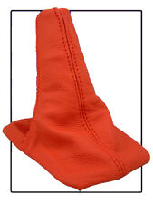 FITS TOYOTA CELICA 94-98 RED REAL LEATHER GEAR BOOT