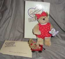 "ANNETTE FUNICELLO LIMITED EDITION  ""MARCI AND ME TOO"" TEDDIES, W/ BOX (#FC1-1 )"
