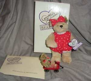"""ANNETTE FUNICELLO LIMITED EDITION  """"MARCI AND ME TOO"""" TEDDIES, W/ BOX (#FC1-1 )"""