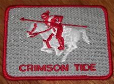 "University of Alabama Crimson Tide Iron-On Patch Vintage NEW Old Stock 3.75"" *P9"