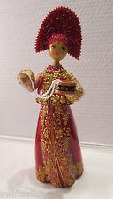 """Russian Matryoshka"" Hand-Made Linden Wood Doll - #4"