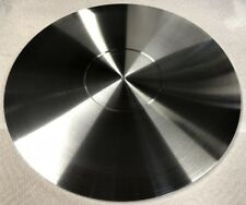 TURNTABLE PLATTER MAT *CUSTOM ORDERS WELCOME* 300MM X 12MM ALUMINUM *FLAT* USA!!