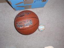 Official Rawlings Ncaa Game Ball Leather Basketball and new Rawling Baseball