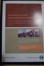DLR Dagenham Dock Extension - TfL London Underground Tube - Transport - 2007