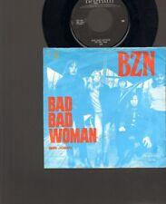 """BZN Bad Bad Woman SINGLE 7"""" Sir John 1971 NEDERPOP Dutch Beat B.Z.N."""