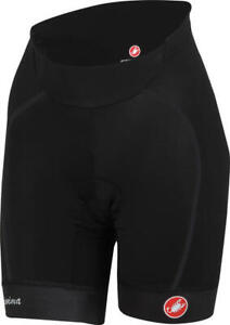 New Women's Castelli Velocissima Bib Shorts Black Sz Large