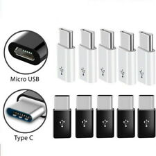 5 X Micro USB Female to USB C Male Converter Connector USB 3.1 Type C Adapter