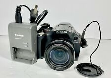 Canon PowerShot SX30 IS 14.1MP Digital Camera - Black WITH BATTERY AND CHARGER
