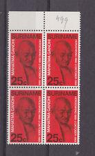 surinam 1969 Sc 365,Gandhi,set,block of four,MNH      o490