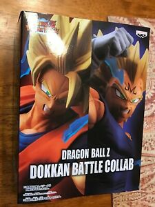 Dragon ball Z Dokkan battle Collab Super Saiyan 2 son goku Banpresto figure