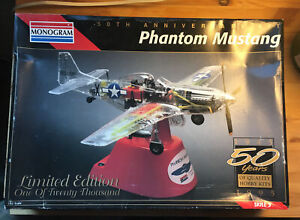 Phantom Mustang 50th Anniver. - Revell  1/32 scale unassembled aircraft kit#0067