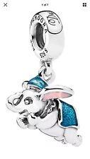 Genuine PANDORA Silver Disney's Flying Dumbo Charm Exclusive 792124ENMX S925 ALE
